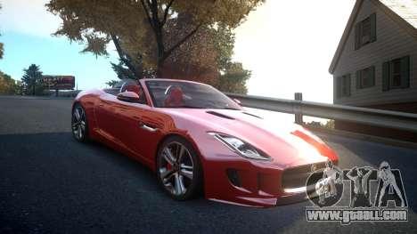 Jaguar F-Type v1.6 Release [EPM] for GTA 4 inner view