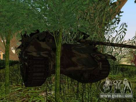 Panther for GTA San Andreas bottom view