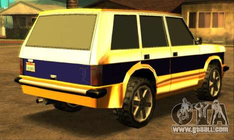 Luni Huntley for GTA San Andreas right view