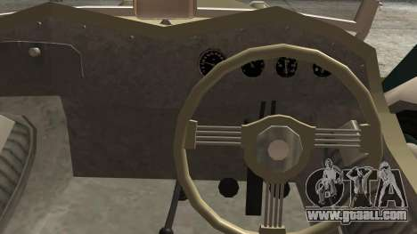 Datsun Sports DC-3 for GTA San Andreas right view