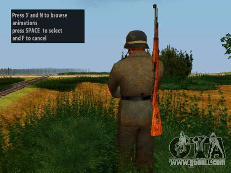 German soldiers for GTA San Andreas fifth screenshot