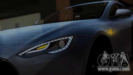 Tesla Model S 2014 for GTA San Andreas