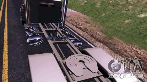 Mack RS700 Custom for GTA San Andreas back view