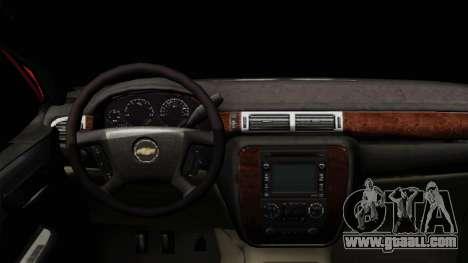 Chevrolet Silverado Tuning for GTA San Andreas right view