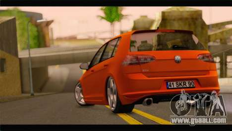 Volkswagen Golf GTI 2014 for GTA San Andreas left view