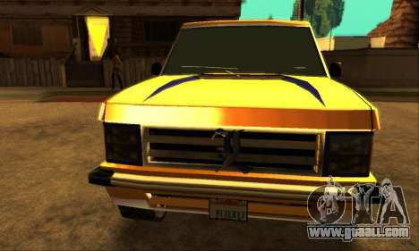 Luni Huntley for GTA San Andreas left view