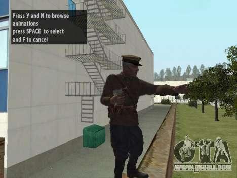 Commissioner Markov for GTA San Andreas third screenshot