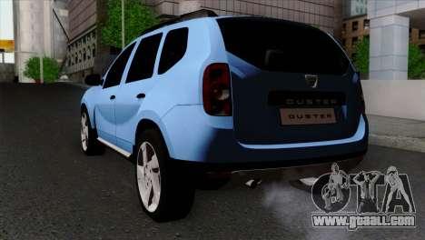 Dacia Duster 2014 for GTA San Andreas left view