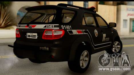 Toyota Hilux SW4 2009 ROTA for GTA San Andreas left view