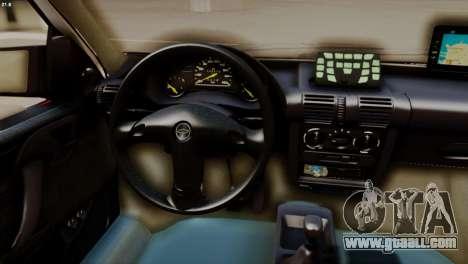 Chevrolet Corsa 2000 PMESP for GTA San Andreas right view