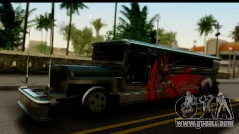 Patok Jeepney for GTA San Andreas