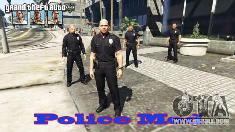 Police mod for GTA 5