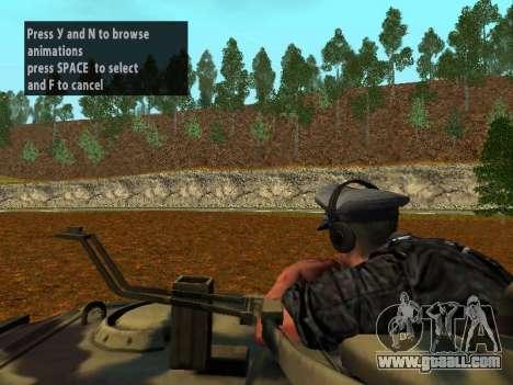 German tank commander for GTA San Andreas fifth screenshot