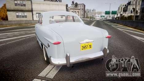 Ford Custom Club 1949 v2.2 for GTA 4 back left view