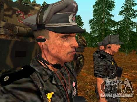 German tank commander for GTA San Andreas third screenshot