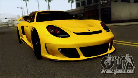 Gemballa Mirage GT v2 Windows Down for GTA San Andreas