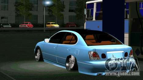 Toyota Aristo for GTA San Andreas back view