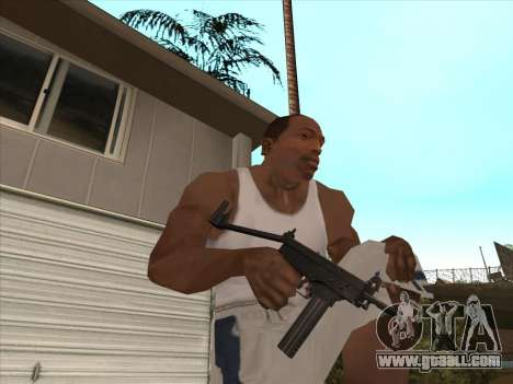 Russian submachine guns for GTA San Andreas seventh screenshot