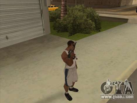 Russian submachine guns for GTA San Andreas forth screenshot