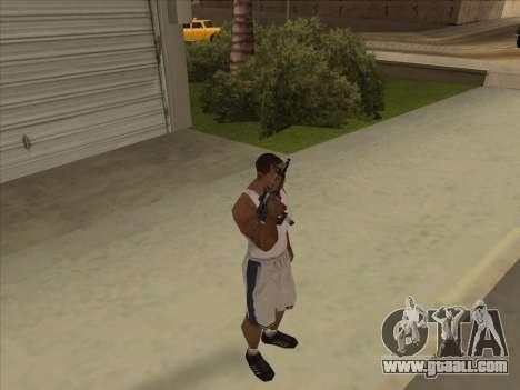 Russian submachine guns for GTA San Andreas forth screenshot