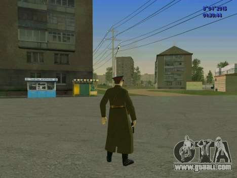 Felix Edmundovich Dzerzhinsky for GTA San Andreas forth screenshot