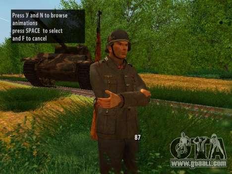 German soldiers for GTA San Andreas second screenshot