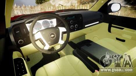 Chevrolet Silverado 1500 LT Extended Cab wheels2 for GTA 4 back view