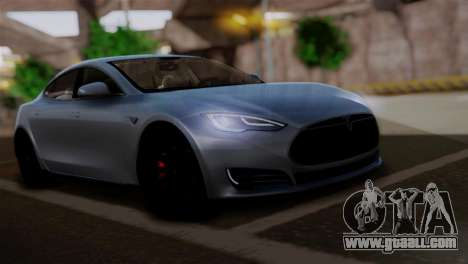 Tesla Model S 2014 for GTA San Andreas