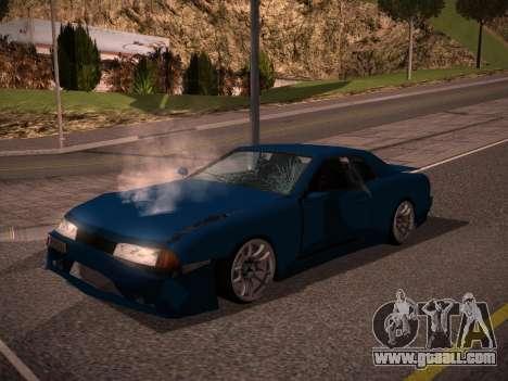Elegy GunkinModding for GTA San Andreas right view