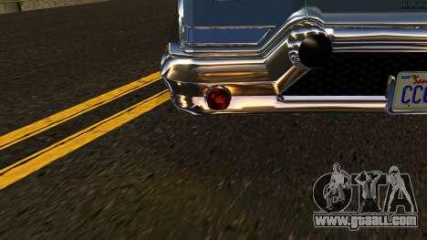 GTA 5 Declasse Tornado IVF for GTA San Andreas side view