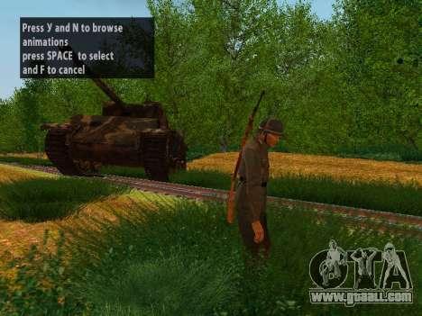 German soldiers for GTA San Andreas forth screenshot