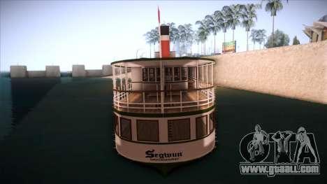 Indonesia Ferri for GTA San Andreas back left view