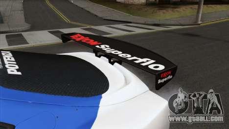 Toyota Supra 2005 EXXON SuperFlo for GTA San Andreas right view