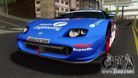 Toyota Supra 2005 EXXON SuperFlo for GTA San Andreas