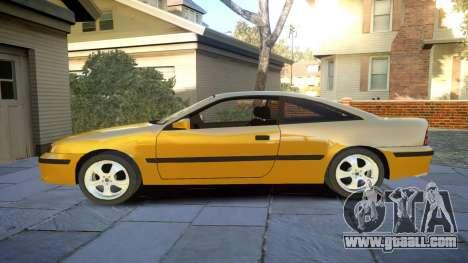 Opel Calibra v2 for GTA 4 left view
