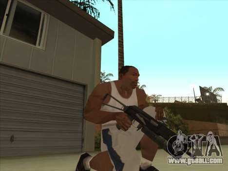 Russian submachine guns for GTA San Andreas third screenshot