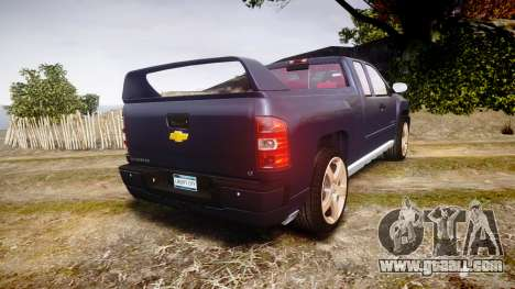 Chevrolet Silverado 1500 LT Extended Cab wheels2 for GTA 4 back left view