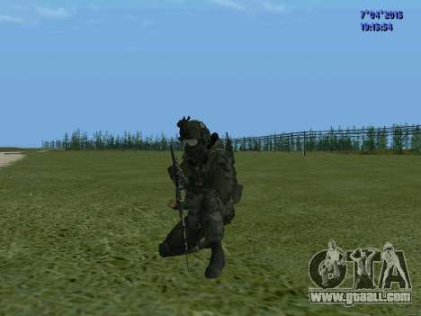 SWAT for GTA San Andreas forth screenshot
