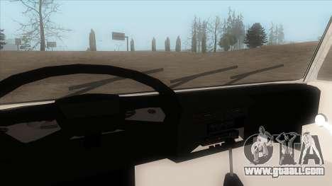 Tatra 815 for GTA San Andreas back view