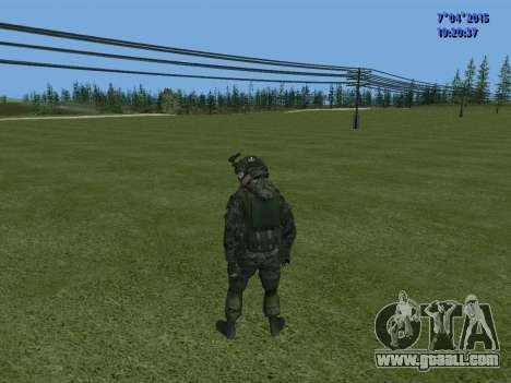 SWAT for GTA San Andreas eleventh screenshot