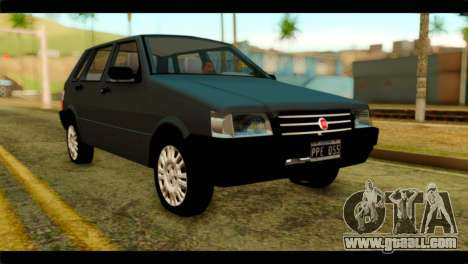 Fiat Uno Fire Mille for GTA San Andreas