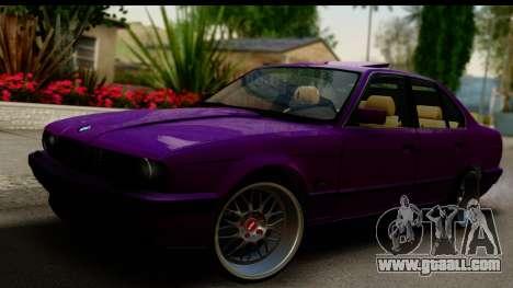 BMW M5 E34 for GTA San Andreas