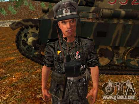 German tank commander for GTA San Andreas