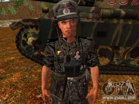 German tank commander for GTA San Andreas