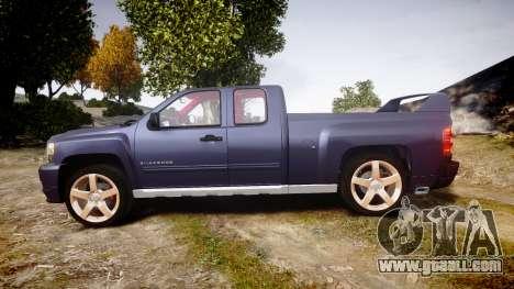 Chevrolet Silverado 1500 LT Extended Cab wheels2 for GTA 4 left view