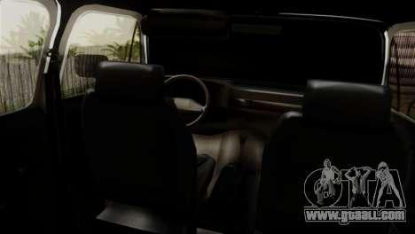 Chevrolet Suburban Dually for GTA San Andreas back left view