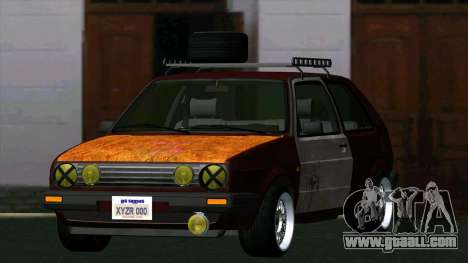 Volkswagen Golf II Rat Style for GTA San Andreas