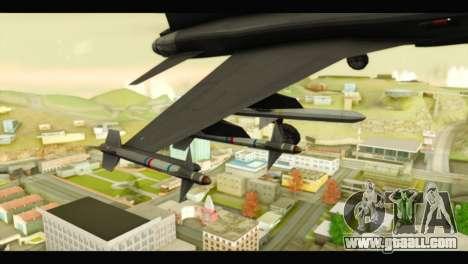 Northrop F-5E Top Gun for GTA San Andreas right view