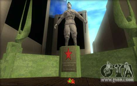 The monument to the Victory Day for GTA San Andreas