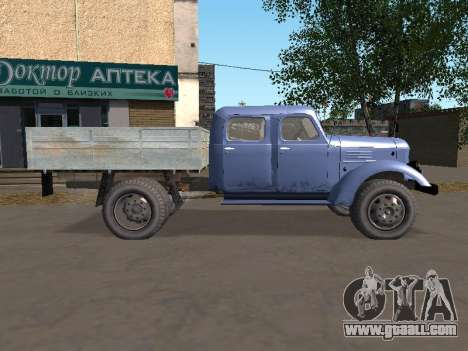 ZIL 164 Side for GTA San Andreas left view